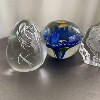 Paperweights - Art Glass