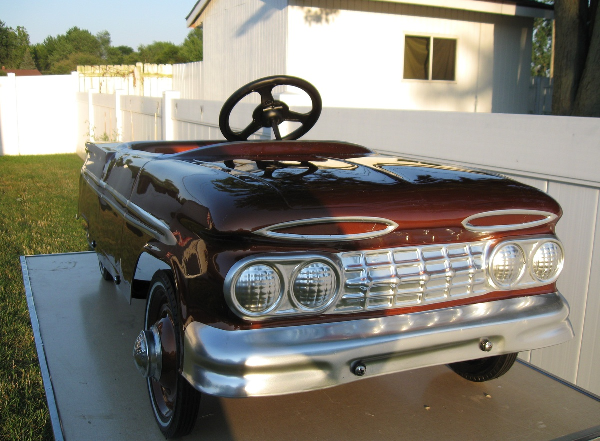 1959 Hamilton Chevy Pedal Car (Very Rare) | Collectors Weekly