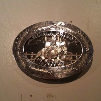 Angola Prison Rodeo belt buckle hand made - Accessories