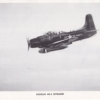 Douglas AD-5 Skyraider Douglas Aircraft Series - Advertising