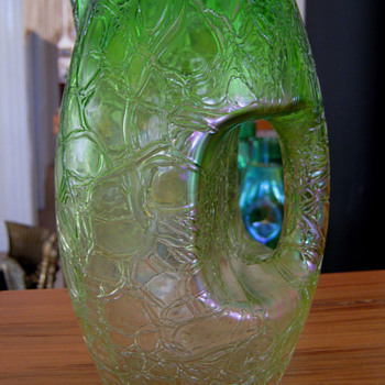 LOETZ PITCHER - JUG - Art Glass
