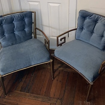 Italian brass armchair - Furniture