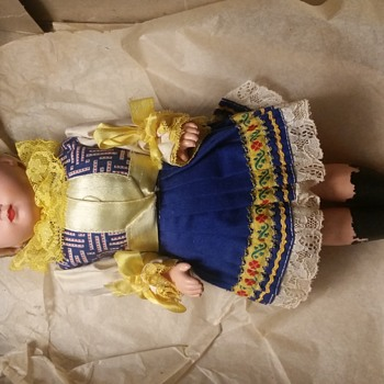 Vintage Doll no visible markings