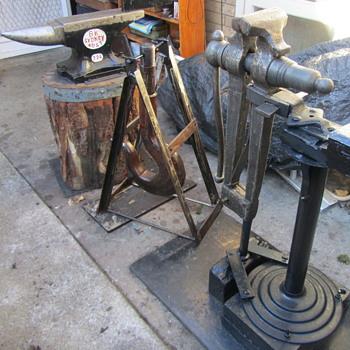 Blacksmithing and Shank Hook. - Tools and Hardware