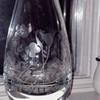 Vintage/Antique Etched Crystal Vase
