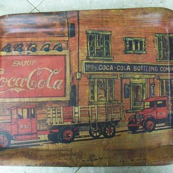 Unsual Coca Cola tray - Coca-Cola