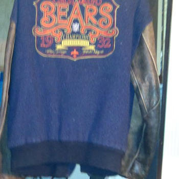 1932 Chicago Bears Jacket - Football