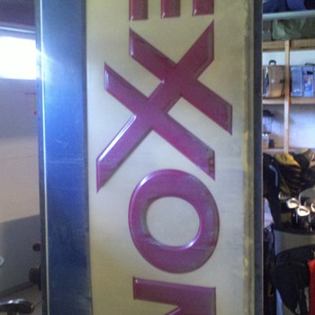 Exxon sign picked this weekend