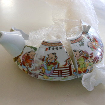 Help! with story on Chinese teapot