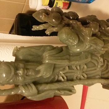 God of Longevity Jade - Asian