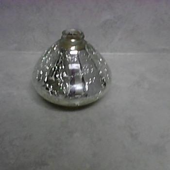 MERCURY CRACKLE GLASS BOTTLE