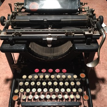Antique Remington Typewriter, Unknown Exact Age.  - Office