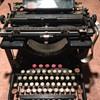 Antique Remington Typewriter, Unknown Exact Age.