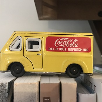 Tin Truck Toy - Coca-Cola