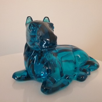 LE Smith Glass horse  - Animals