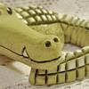 Creepy cute crocodile, yikes!