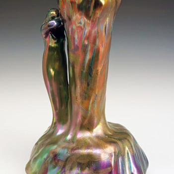 Delphin Massier Symbolist Vase - Art Nouveau