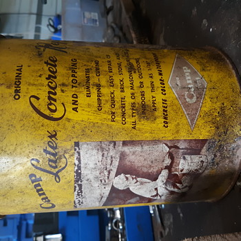 Old can. The camp company.