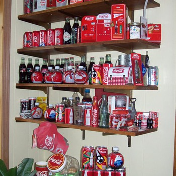1 wall in my Coca Cola/Den (for TGBWC!)