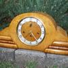 E.Jauch German Mantle Clock restored