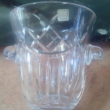 Fifth Avenue 24% Lead Crystal Champagne Bucket - Made In Polland