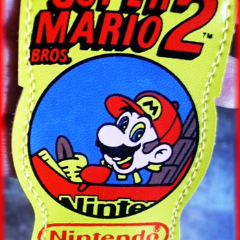 1989 SUPER MARIO 2 ( Nintendo ) -- CHILD'S SUSPENDERS    ***(( Repost ))  - Advertising