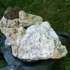 Fluorescent Calcite Willemite and unknown minerals in concrete Franklin NJ