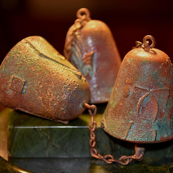Three Bells by Paolo Soleiri - Arcosanti - Christmas