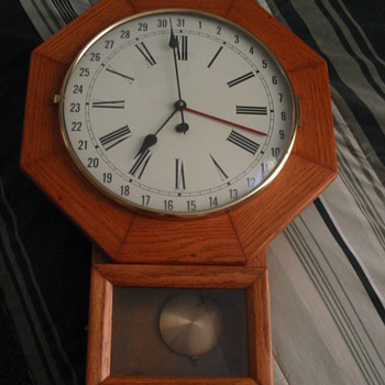 1971 Wall Clock with West Germany face on front - Clocks