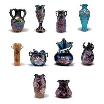 Quittenbaum, Pallme König, and Kralik – A Visual Comparison of Décor Examples for Collectors - Art Glass