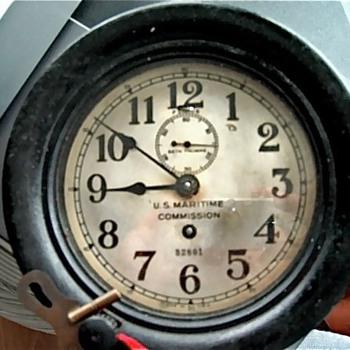 Seth Thomas - US Maritime Commission clock No.32801
