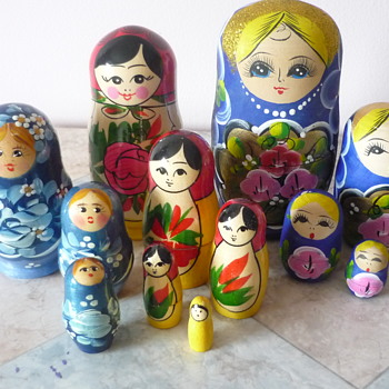 The Russian Gals - Dolls