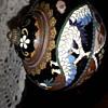 19th century temple cloisonne jar