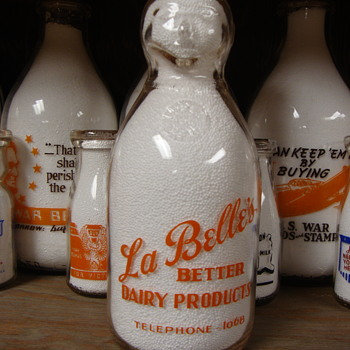 La Belle's Dairy...COP THE CREAM...Marlboro  - Bottles