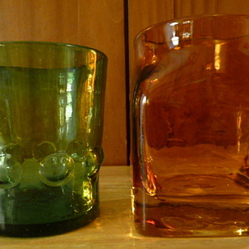 Blenko Glass drinking glass? - Art Glass