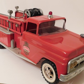 1962 Tonka No. 926 Suburban Pumper Fire Truck  - Firefighting