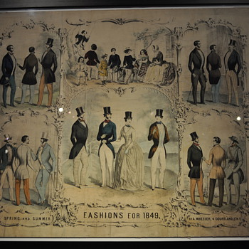 1849 Fashions - Mens Clothing