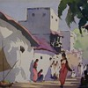G. D. Arul Raj watercolors