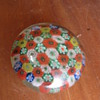 Unknown Paperweight Glass Bohemian ?