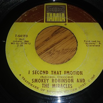 Smokey Robinson And The Miracles...On 45 RPM Vinyl - Records