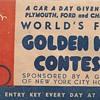 "Golden Key Contest""World's fair 1940""Part 1"