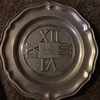 World Trade Center Restaurant Plate..I think it's one of a kind