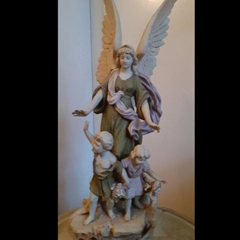 Three figure Royal Dux Bohemia porcelain - Figurines
