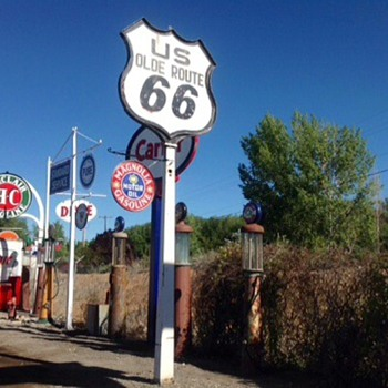 Old Route 66 Sign - Signs