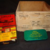 Gun cleaning kit and 30-30 ammo box