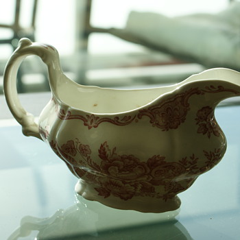 Antique Gravy Boat - Ridgway of Staffordshire England