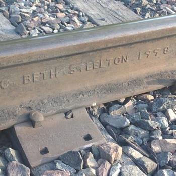 Bethlehem Steel Rail From Steelton, PA - Railroadiana