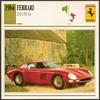 Vintage Car Card - Ferrari 250 GTO