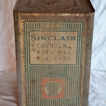 Sinclair Opaline 5 Gallon Can - Petroliana