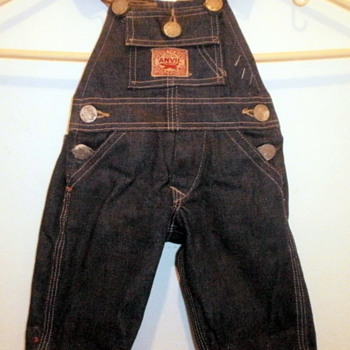 ANVIL OVERALLS SALEMSMAN SAMPLE - Advertising